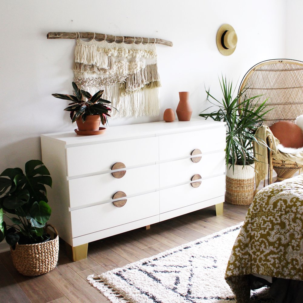 Pretty Movement The Place To Be Check Out Inspiring Ikea Hacks Prettypegs An Dresser Makeover