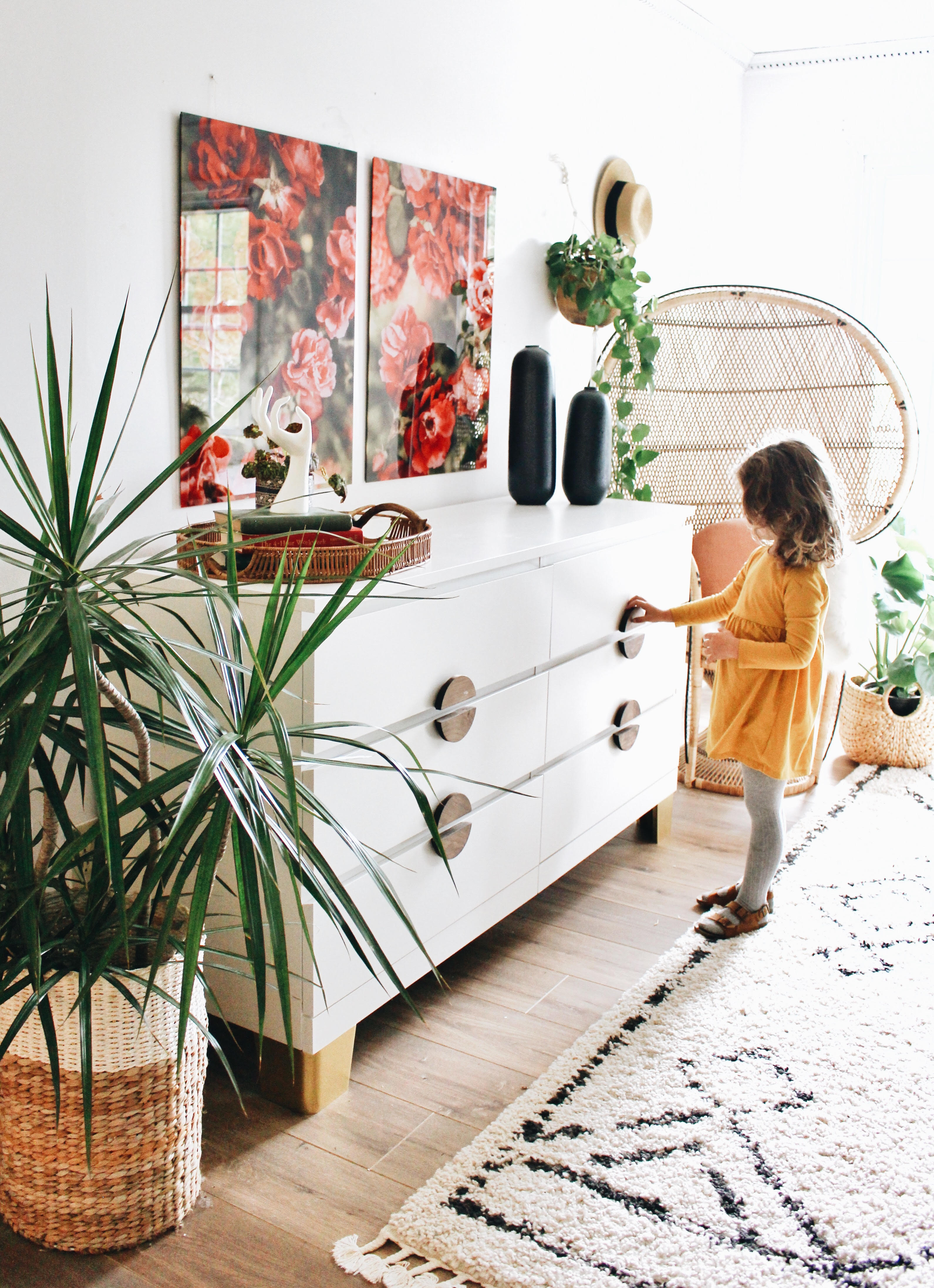 Pretty Community The Place For Ikea Hacks Prettypegs An Ikea Dresser Makeover