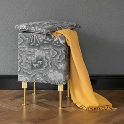 Eket sewing stool by Mimmi Staaf