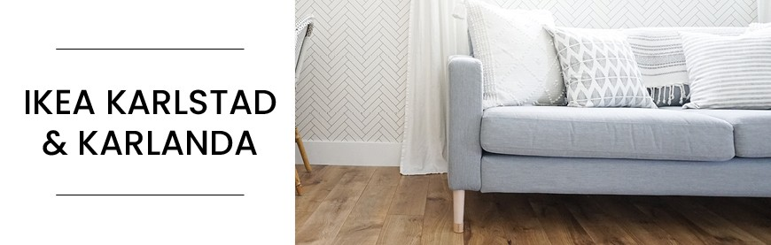 Buy replacement legs for IKEA Karlstad sofas - Prettypegs
