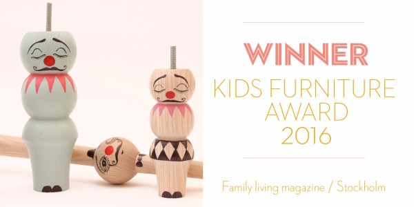 PrettyMiniClowns Wins A Kids Furniture Award!