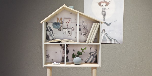 Nordic deco dollhouse