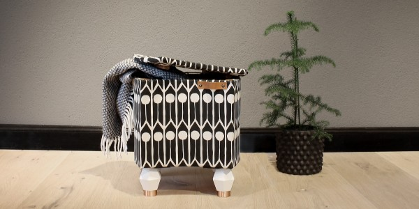 Upholstered stool - YES please!