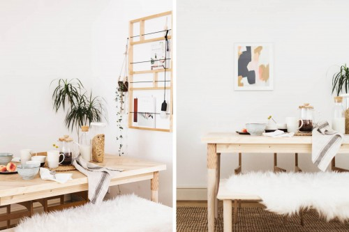 Build-In The Perfect Dinning Table