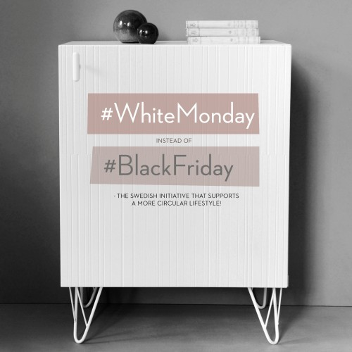 #WhiteMonday Instead of #BlackFriday
